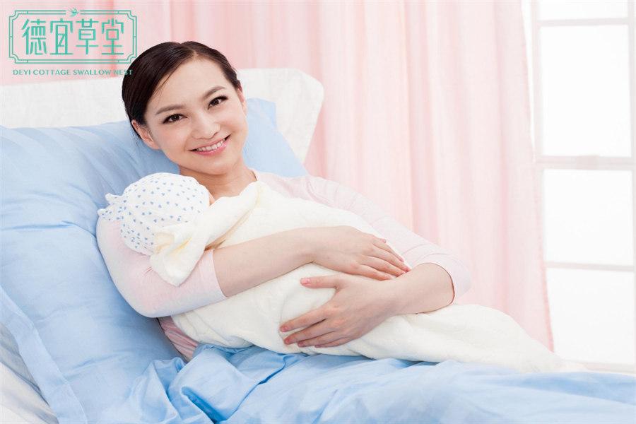 产妇能吃花生牛奶燕窝吗