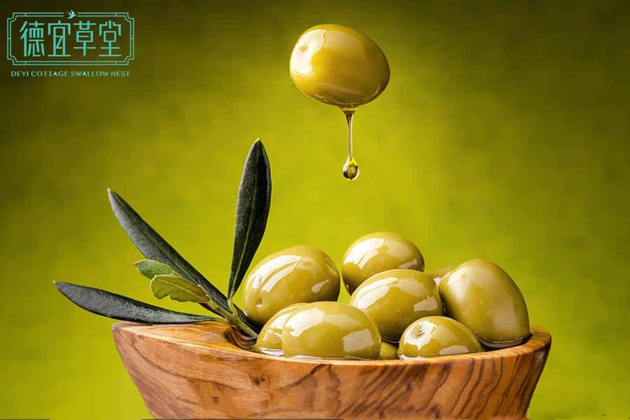 橄榄能和燕窝一起吃吗