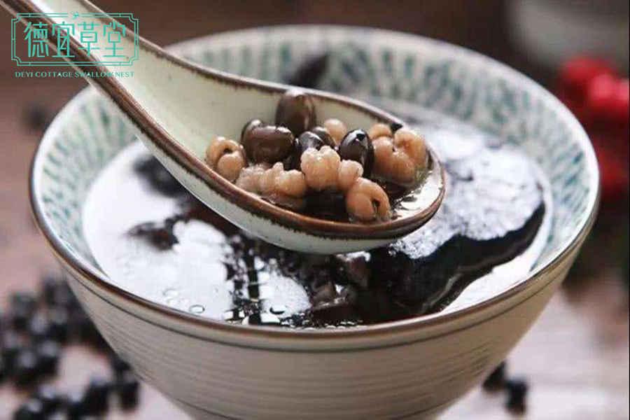 黑豆可以和燕窝一起吃吗