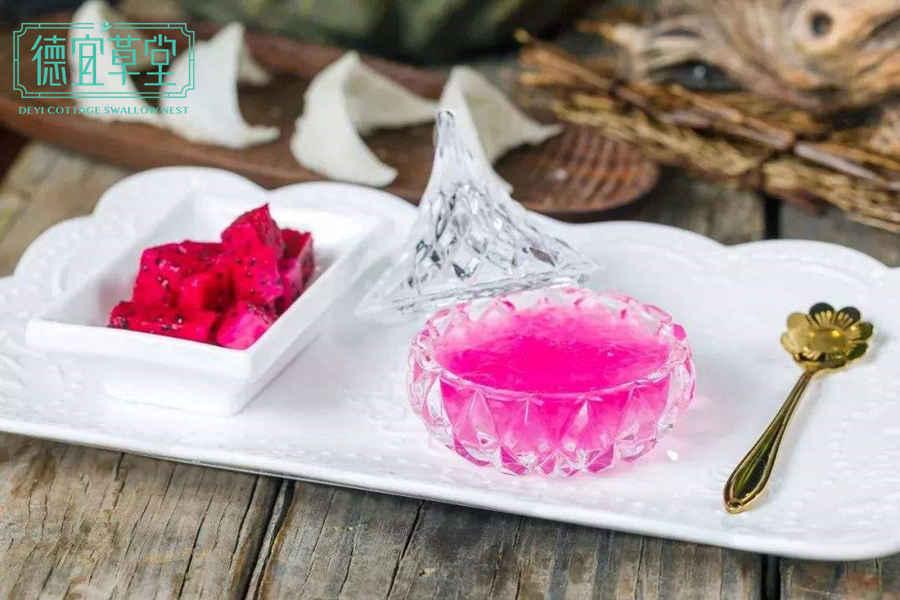 酸奶火龙果燕窝的功效与作用