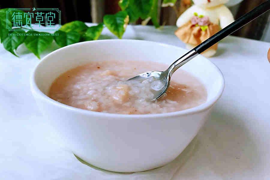 燕窝白米粥做法