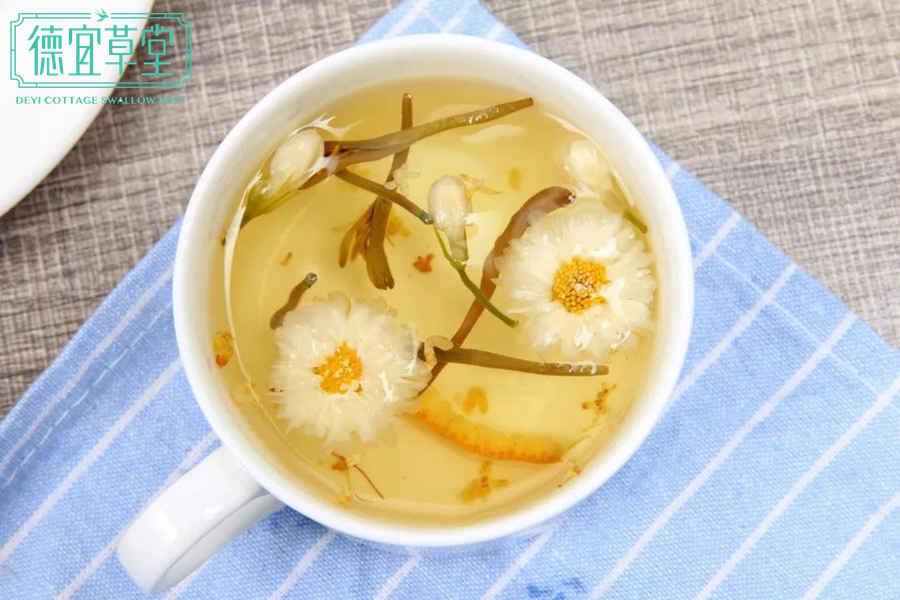 金银花能和燕窝一起吃吗