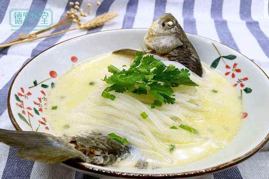 鲫鱼燕窝汤的功效与作用