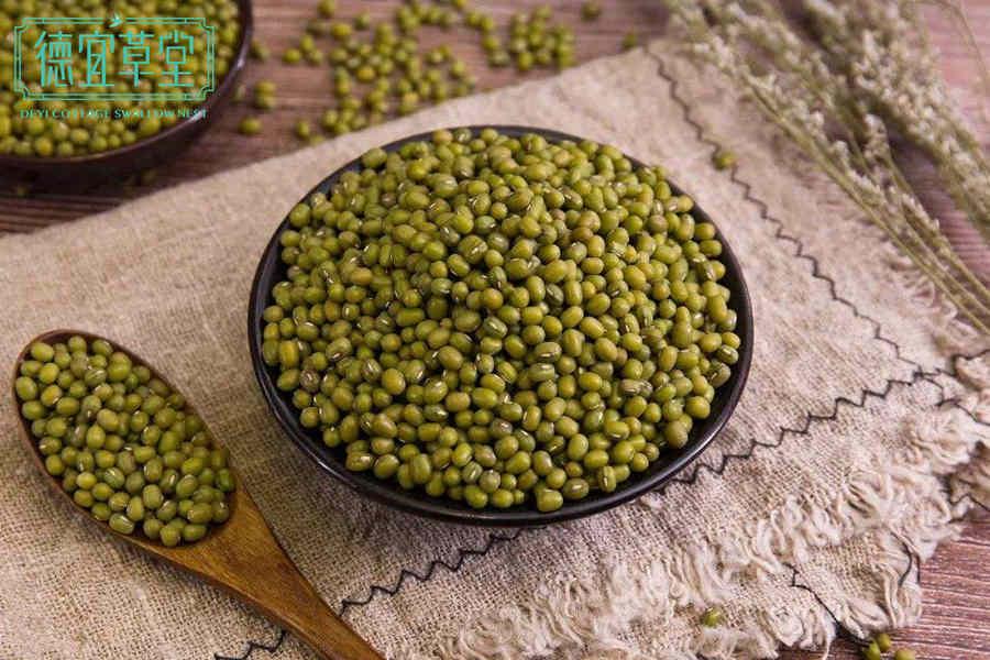 燕窝绿豆汤的做法