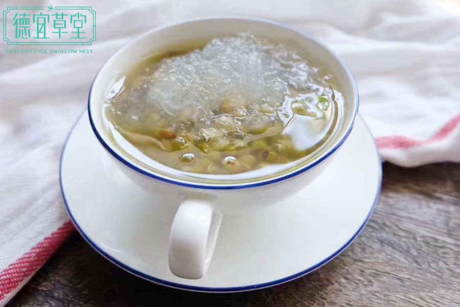 孕妇吃绿豆燕窝汤的功效