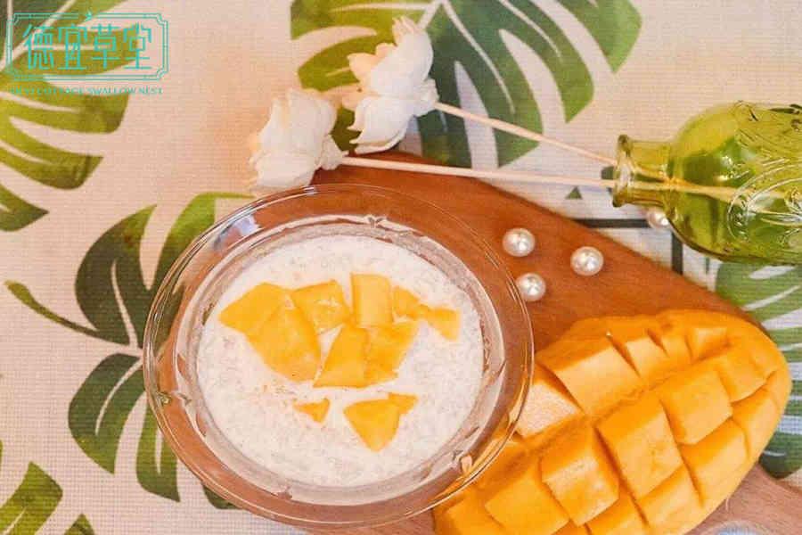 牛奶燕窝可以跟芒果一起吃吗
