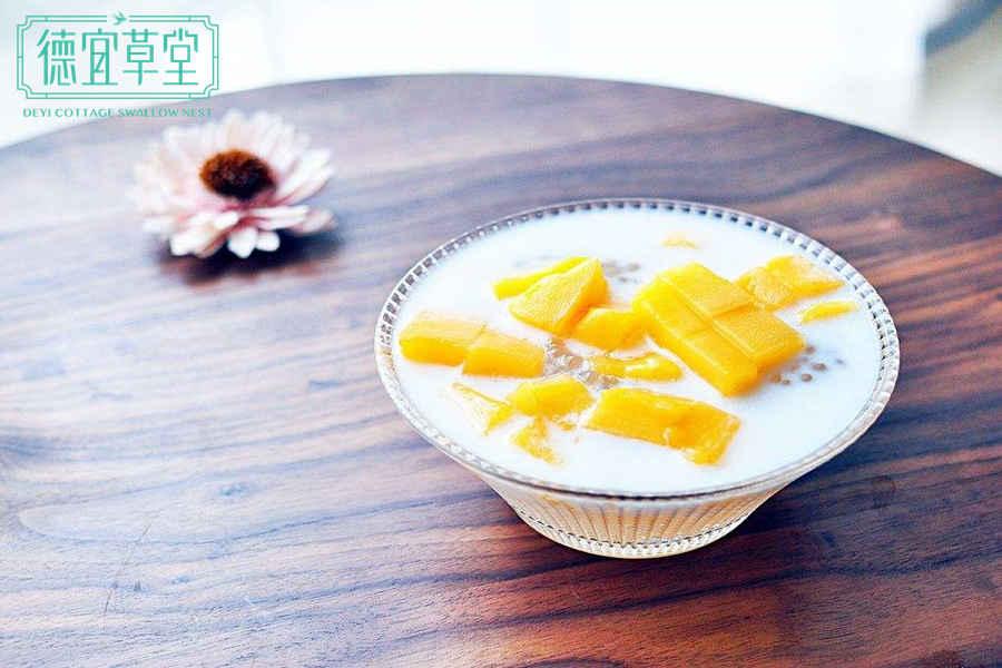 芒果椰奶燕窝的功效与作用