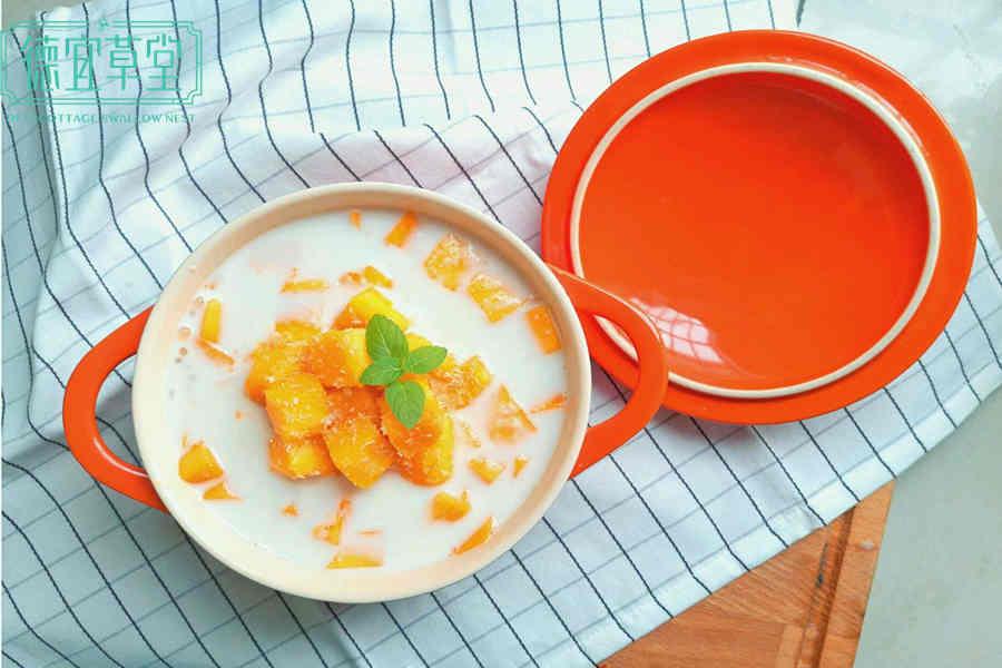 牛奶芒果燕窝的做法