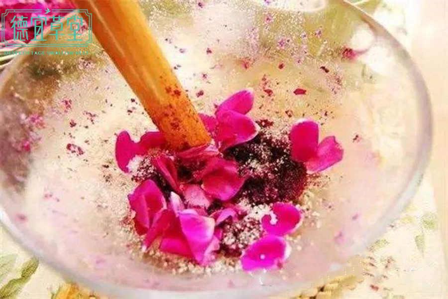 黑糖玫瑰燕窝的做法