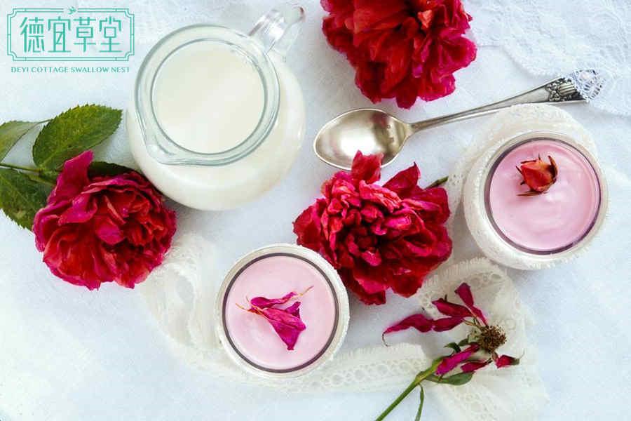 玫瑰酸奶燕窝的功效与作用
