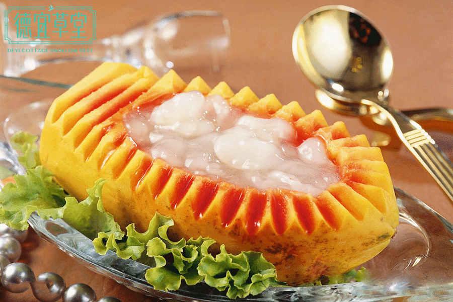 木瓜雪蛤燕窝的做法