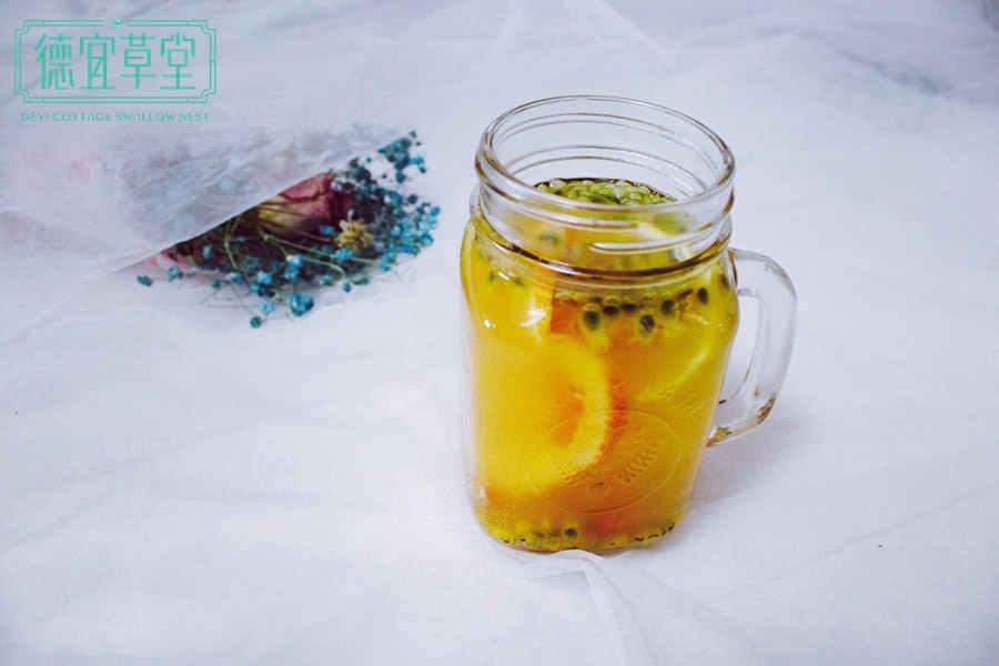 柠檬百香果燕窝的做法