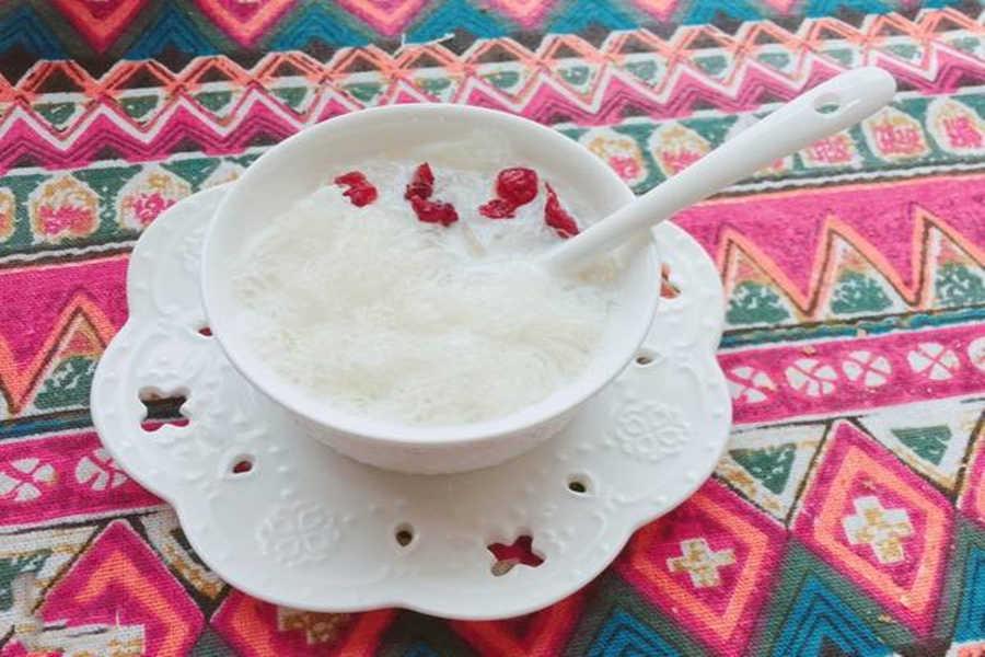 红枣枸杞燕窝的做法