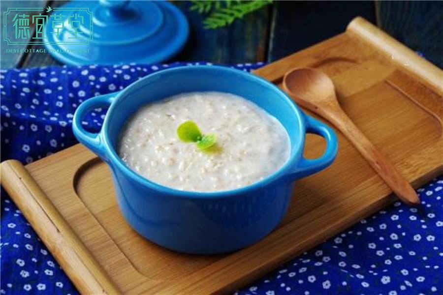 糯米牛奶燕窝粥的做法