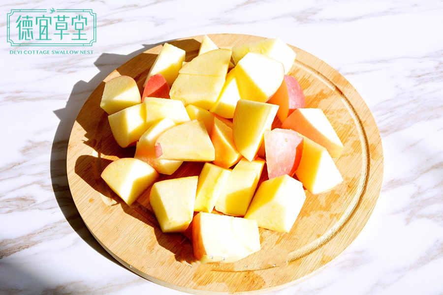 苹果酸奶燕窝的做法