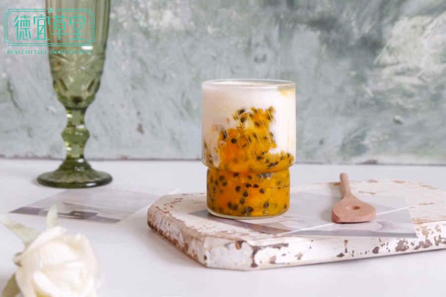 酸奶能和百香果燕窝一起吃吗