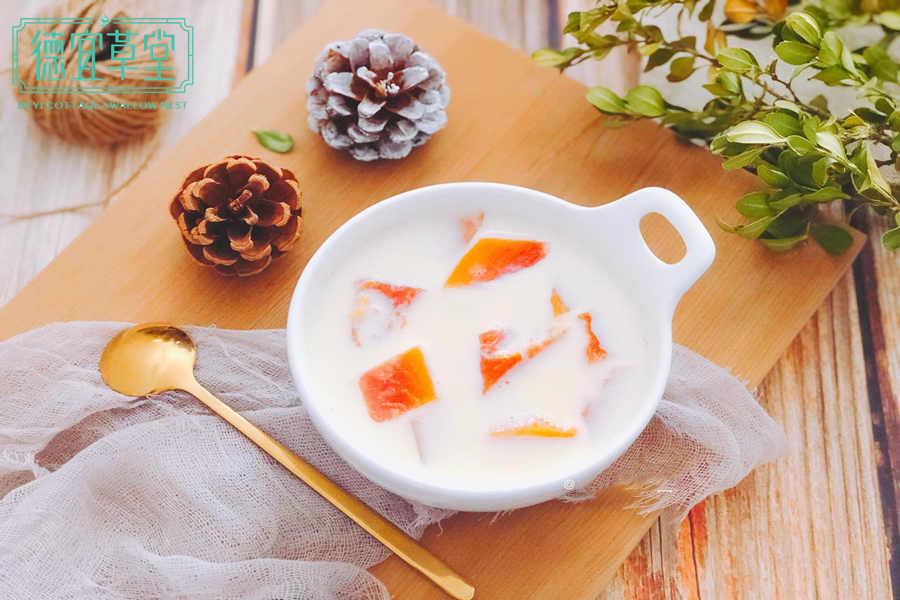 木瓜酸奶燕窝的做法
