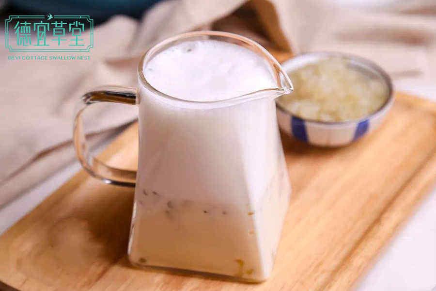 杏仁牛奶燕窝的做法