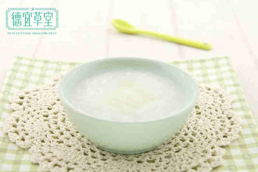 燕窝大米粥的做法