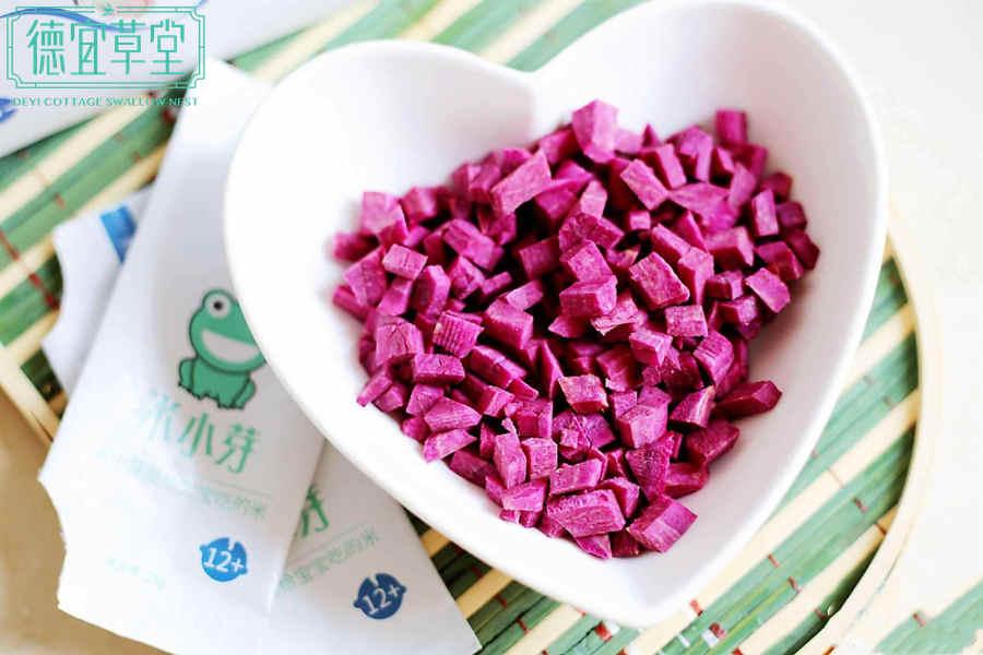 牛奶紫薯燕窝的做法步骤图解